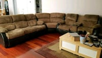 Sectional microfiber couch Montclair, 22025