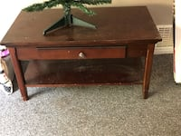 Wooden table with drawer Corona, 92882