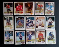 1980s NHL Hockey Card Lot Guelph