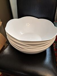 Plastic White Serving Bowl (7 available) Kitchener