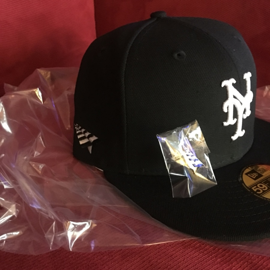 info for ec436 cd0a7 ... 59fifty fitted hat  rocnation newera collection ny mets fitted size 7 5  8 usati in vendita a islip letgo