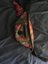 pink, green, and orange floral fanny pack Washington, 20024