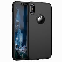 iPhone X | 360° 3in1 FullCover Skal + 0.26mm 9H Glas.  Ny  Malmö, 213 72