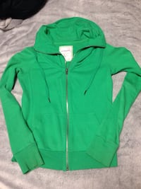 Green zip up sweatshirt Surrey, V3S