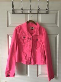 Hot Pink Jean Jacket (L) - Never worn Cary, 27513