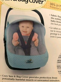 baby's gray and black car seat carrier Montreal, H1S 2A3