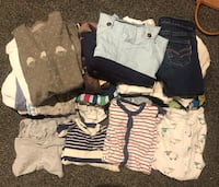 0-6 months Baby boy cloths (30 different clothes) cheap price  Oslo, 0273