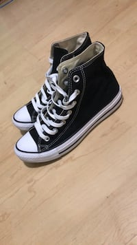 Black Hightop Converse