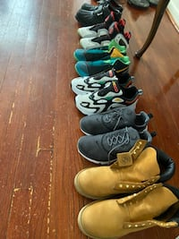 Nike, Polo, Timbs lightly worn Upper Marlboro, 20774