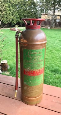 Vintage / Antique Fire Extinguisher Whitby