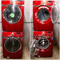 SAMSUNG front load washer and dryer set working perfectly 4 months war Baltimore, 21223