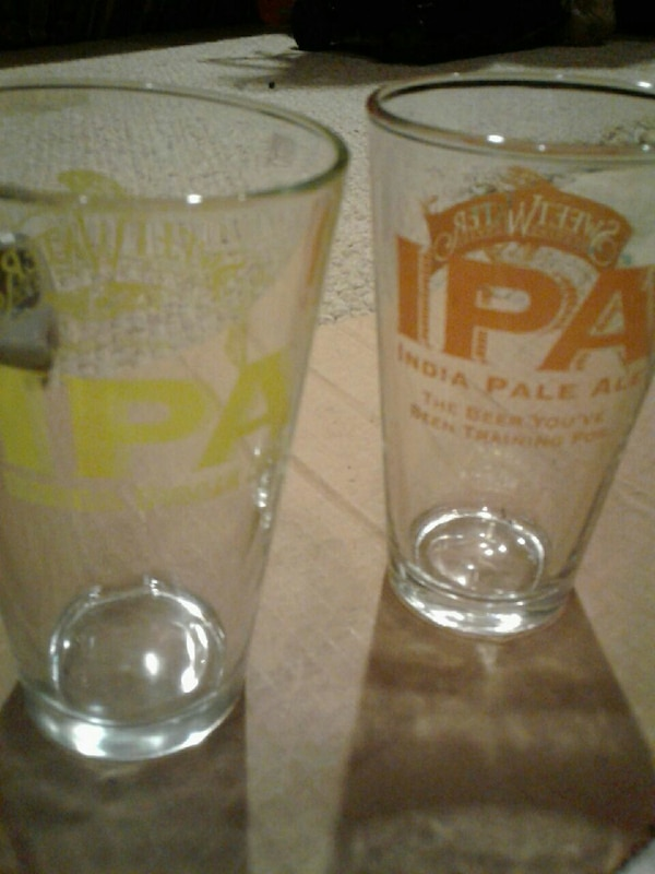 23e0226c4187 Used Set of 2 never used SweetWater IPA Pint glasses for sale in Woodstock  - letgo