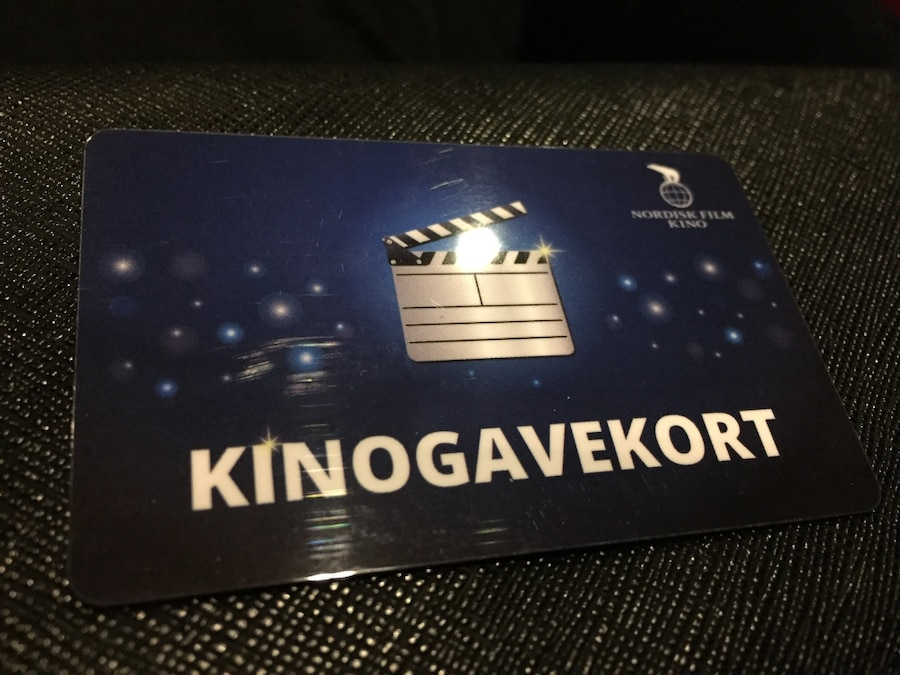 120kr worth Kinogavekort (selling for 70kr)