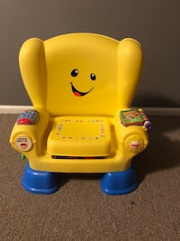 baby's yellow and blue Fisher-Price chair Suitland, 20746