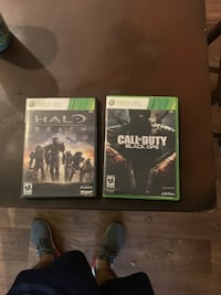 Xbox 360 halo reach and black ops 1 bundle Atlanta, 30312