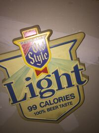 Antique PUB Beer light , still working in amazing condition