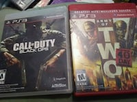 two Sony PS3 Call of Duty cases Calgary, T2A