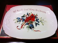Lenox Winter Greetings 14-inch Serving Tray Reston