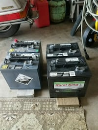 4 Batteries for sale Clinton, 37716