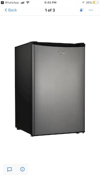 Whirlpool® 4.3cu. ft. Mini Refrigerator Stainless Steel BC-127B(NEW) Dallas, 75243