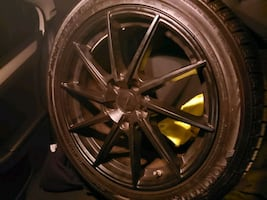 Set of 4 of tires and rims