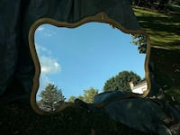 Vintage Old Mirror WWII Era from Germany