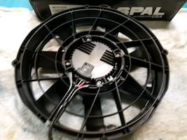 SPAL Electric radiator cooling fan NEW