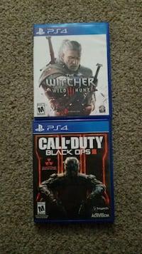 [PS4] CALL OF DUTY: BLACK OPS 3 & THE WITCHER 3 Tucson, 85737
