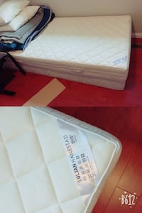IKEA single mattress and box spring - together and pick up only  Vancouver, V5Y 2J1