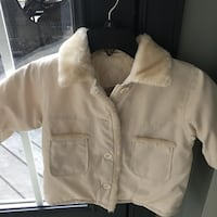Girls size 3T cream London Fog coat and hat Centreville, 20120