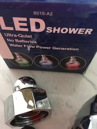 LED colour changing shower head Repentigny, J6A