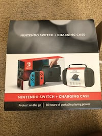 Nintendo switch + Case charger, 2 games Beaumont, 92223