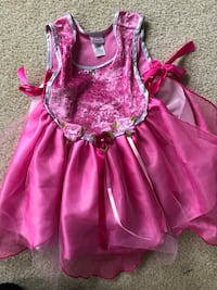 3/4t dress up princess? Fairy costume. Excellent condition leesburg  Leesburg, 20176