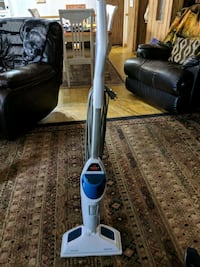 gray and blue upright vacuum cleaner Mulberry, 33860