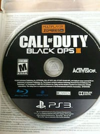 Call of Duty Black Ops III PS3 game disc South Bend, 46619