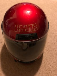 Motorcycle helmet red snell dot approved CL-10