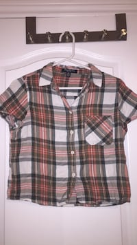 white, black, and red plaid sport shirt Markham, L6B 0P1