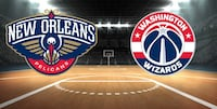 Tickets to Wizards v Pelicans @ 8:00pm Washington, 20001