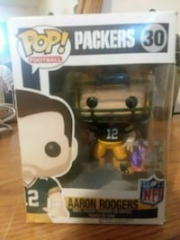 Pop ! Packers Aaron Rogers vinyl figure Indio, 92201