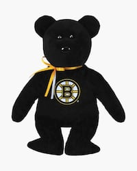 Official NHL Boston Bruins Bear TY Beanie Babie 8 In Haverhill