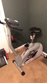 White and black stationary bike Lorton, 22079