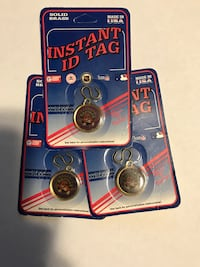 three Instant ID Tag in clear plastic blister pack Vaughan, L4K 5L5