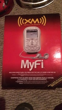 XM Myfi satellite radio box Cambridge, N1R 1T9