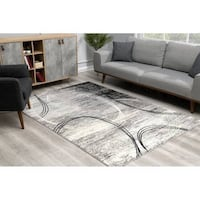 "Brand New Dillup-Jones Gray Area Rug Carpet 7'9"" x 10' 9"""
