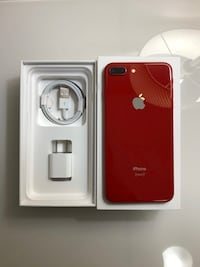 iPhone 8 Plus 64gb- Red (Unlocked) Toronto, M1K 2S2