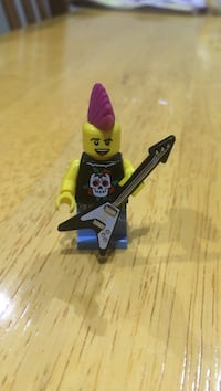 lego figures punk rocker series 4 Toronto, M6M