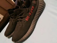 pair of black Adidas Yeezy Boost 350 V2 Toronto, M4B 2E9