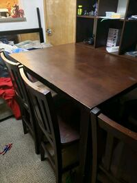 Bar style table and 4 chairs Vancouver, 98660