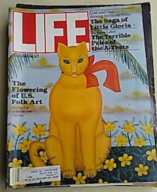 LIFE the flowering of U.S. folk art magazine