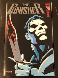 Marvel Comic - The Punisher Vol.2 No.75, Feb 1993. Mint condition